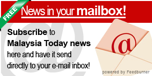 subscribe to Malaysia Today news